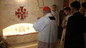 Poświęcenie kaplic Ziemi Świętej w Sanktuarium św. Jana Pawła II