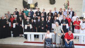 Damy i kawalerowie Zakonu Maltańskiego są spadkobiercami wielkiego skarbu wiary. Msza św. z okazji obchodów dnia św. Jana Jerozolimskiego, patrona Zakonu Maltańskiego
