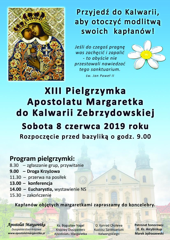 XIII Pielgrzymka Apostolatu Margaretka do Kalwarii Zebrzydowskiej