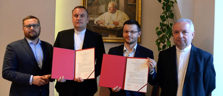 List intencyjny o współpracy partnerskiej pomiędzy UPJPII a Gminą Wadowice
