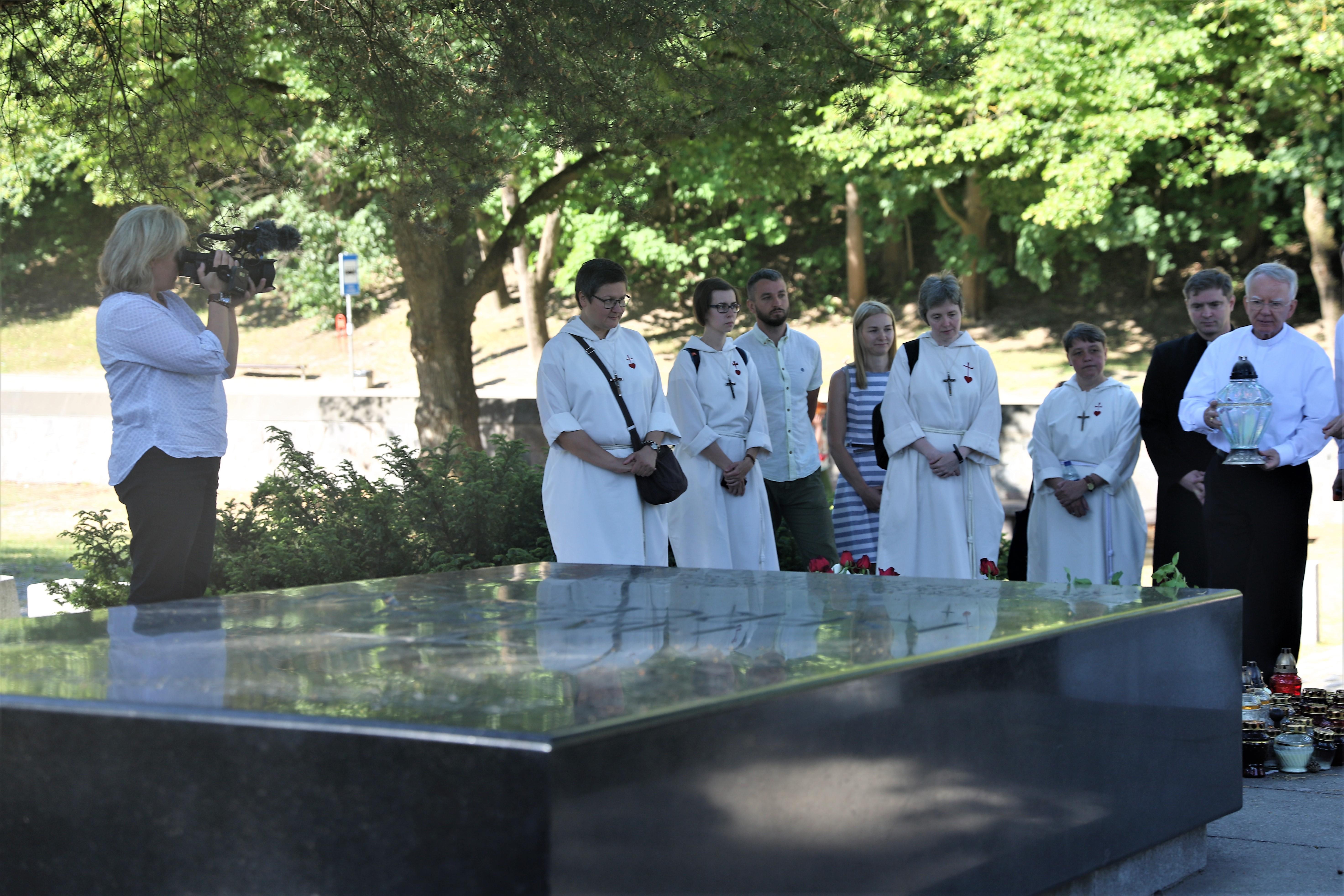 Śladami Bł. Michała Giedroycia – Zwiedzanie Wilna przez delegację z Krakowa