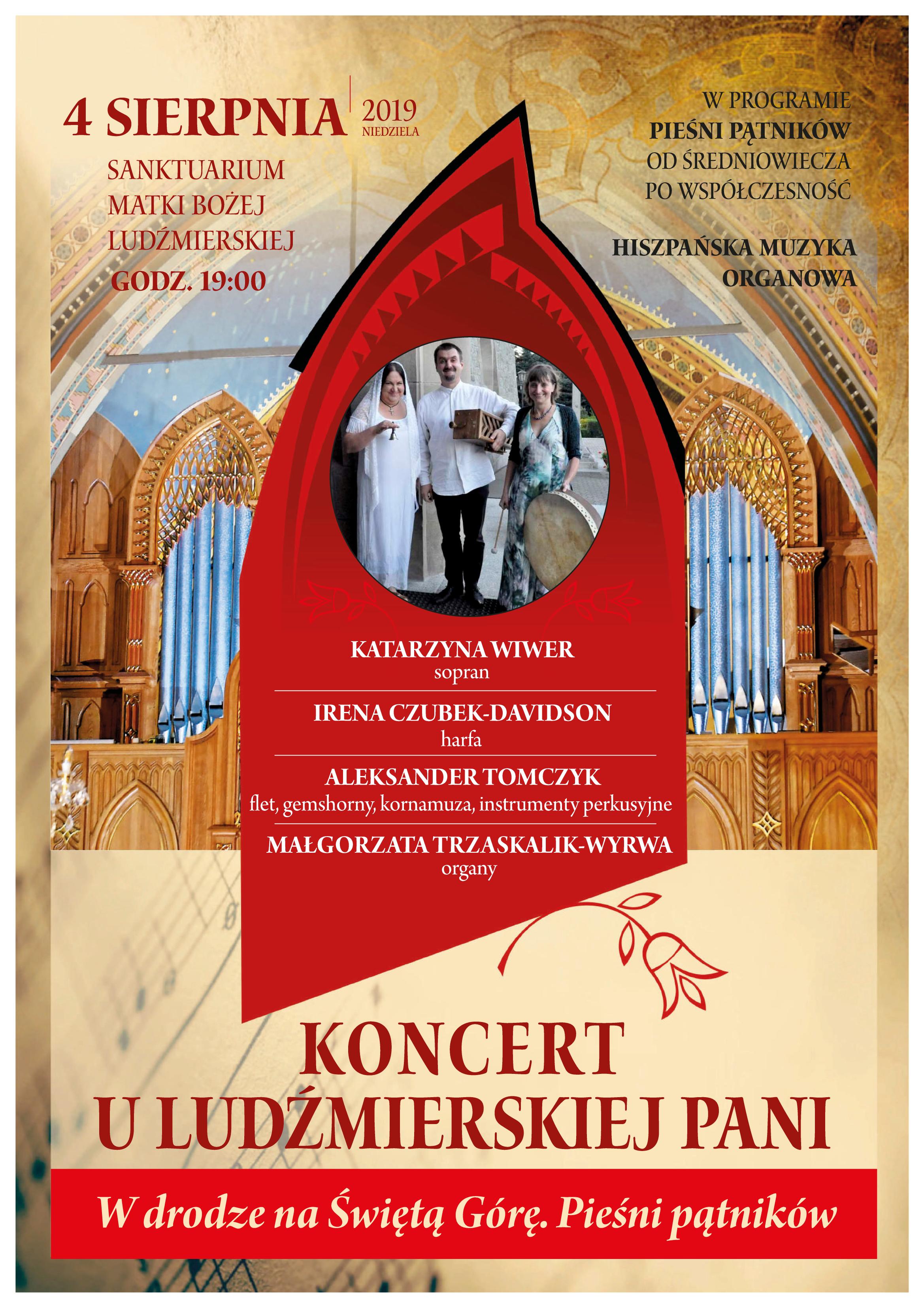 Koncert muzyki organowej w Ludźmierzu
