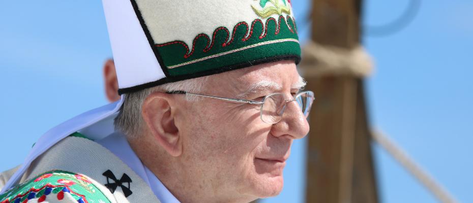 Abp Jędraszewski do górali: patrzcie na krzyż na Giewoncie, nie zatraćcie wiary, nadziei i miłości