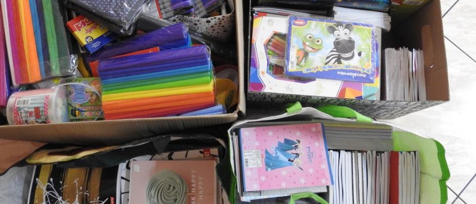 Przybory szkolne dla dzieci z Ukrainy