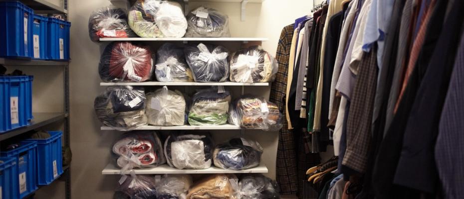 Ubrania dla osób bez domu