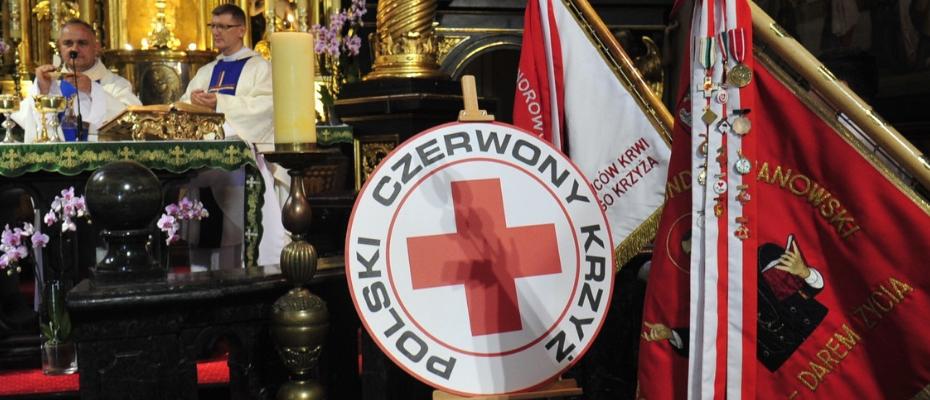 Honorowi krwiodawcy w sanktuarium kalwaryjskim