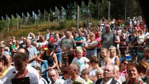 Gorce: Msza św. Ludzi Gór pod szczytem Turbacza