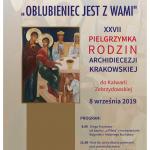 Zaproszenie Metropolity na XXVII Pielgrzymkę Rodzin do Kalwarii Zebrzydowskiej