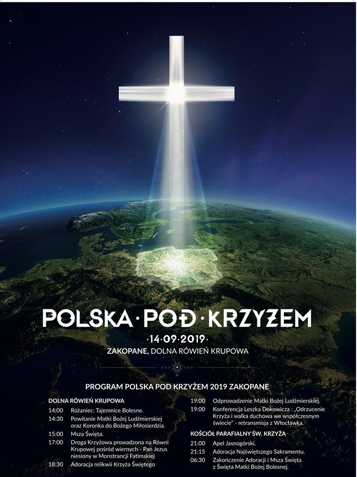 Polska pod krzyżem w Zakopanem