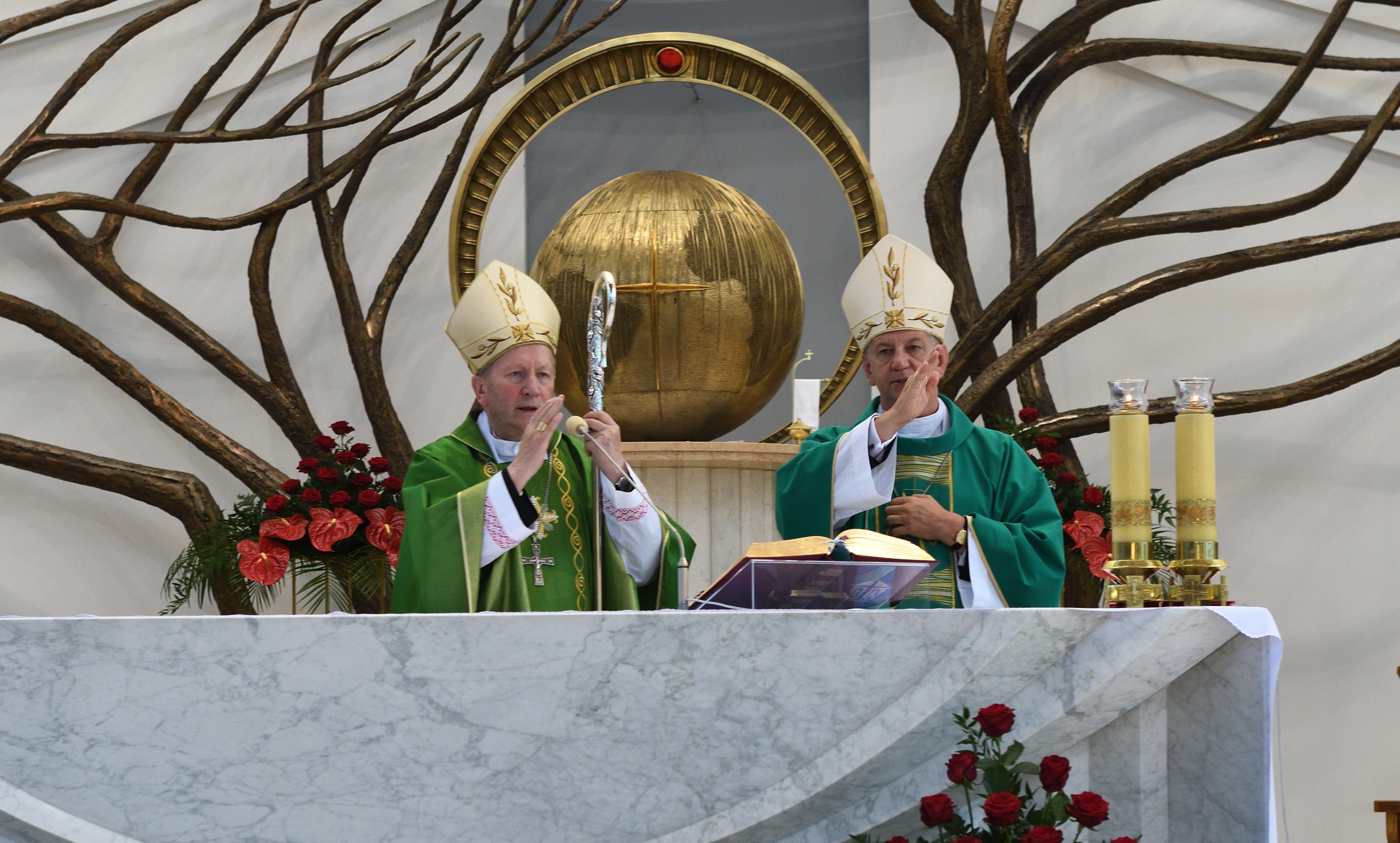 15. rocznica święceń Biskupów Jana Zająca i Józefa Guzdka