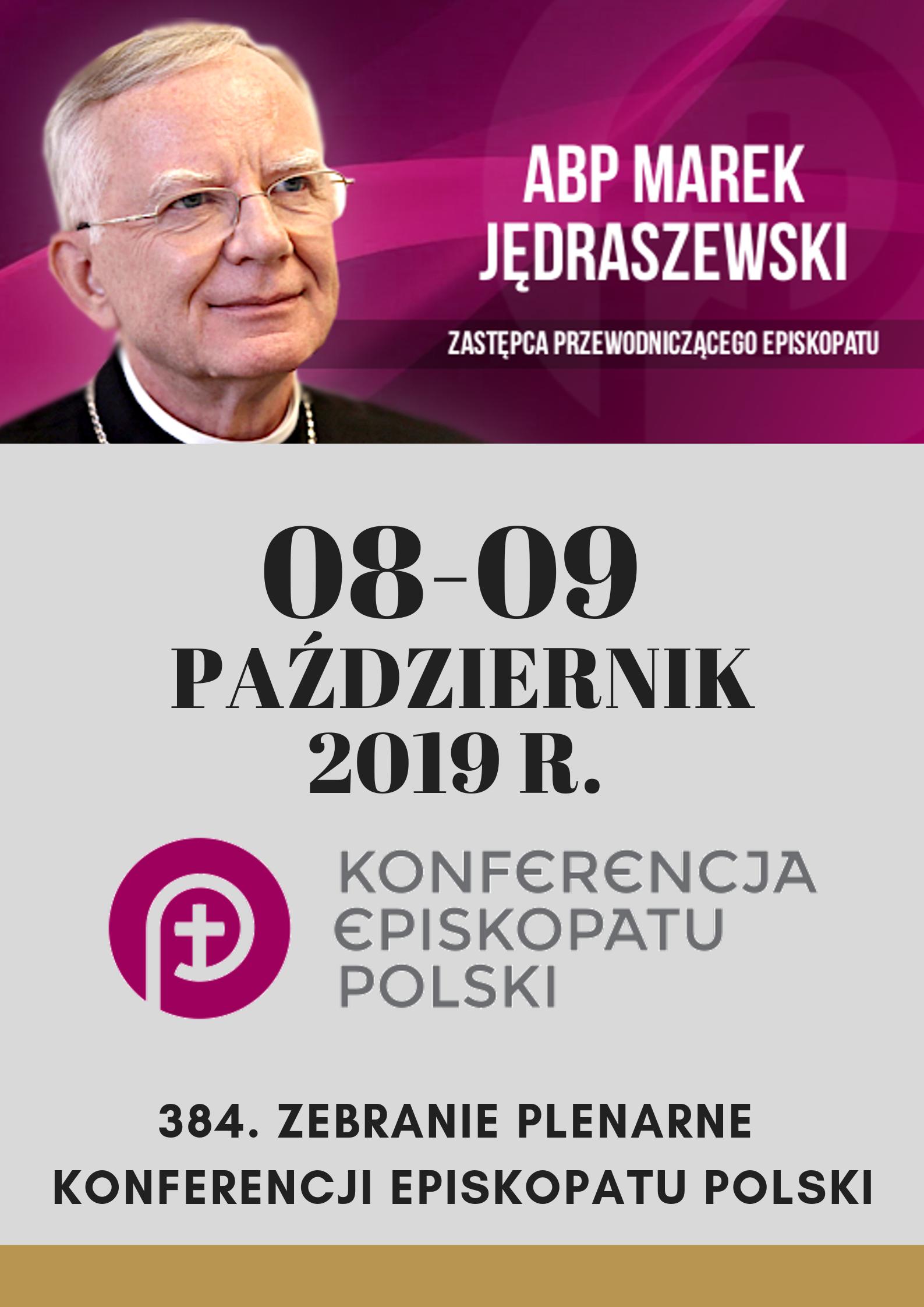 384. Zebranie Plenarne KEP w Warszawie