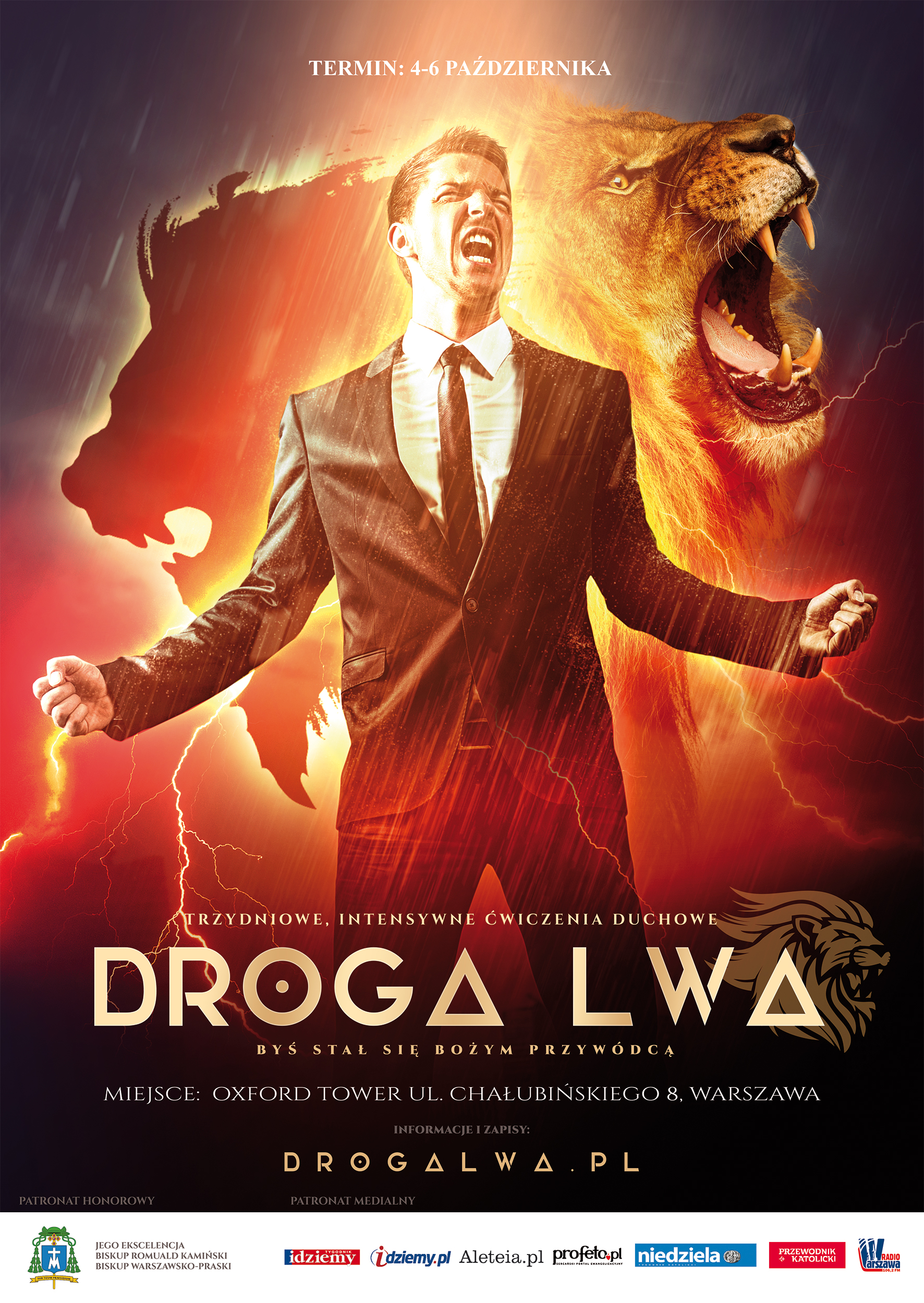 Droga Lwa – 4-6 X 2019 Warszawa