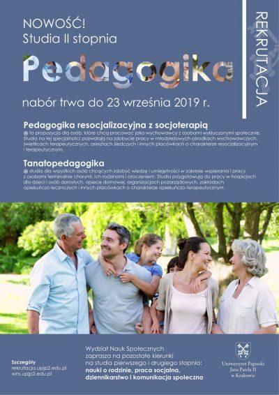 Rekrutacja na kierunek pedagogika na Uniwersytecie Papieskim Jana Pawła II w Krakowie
