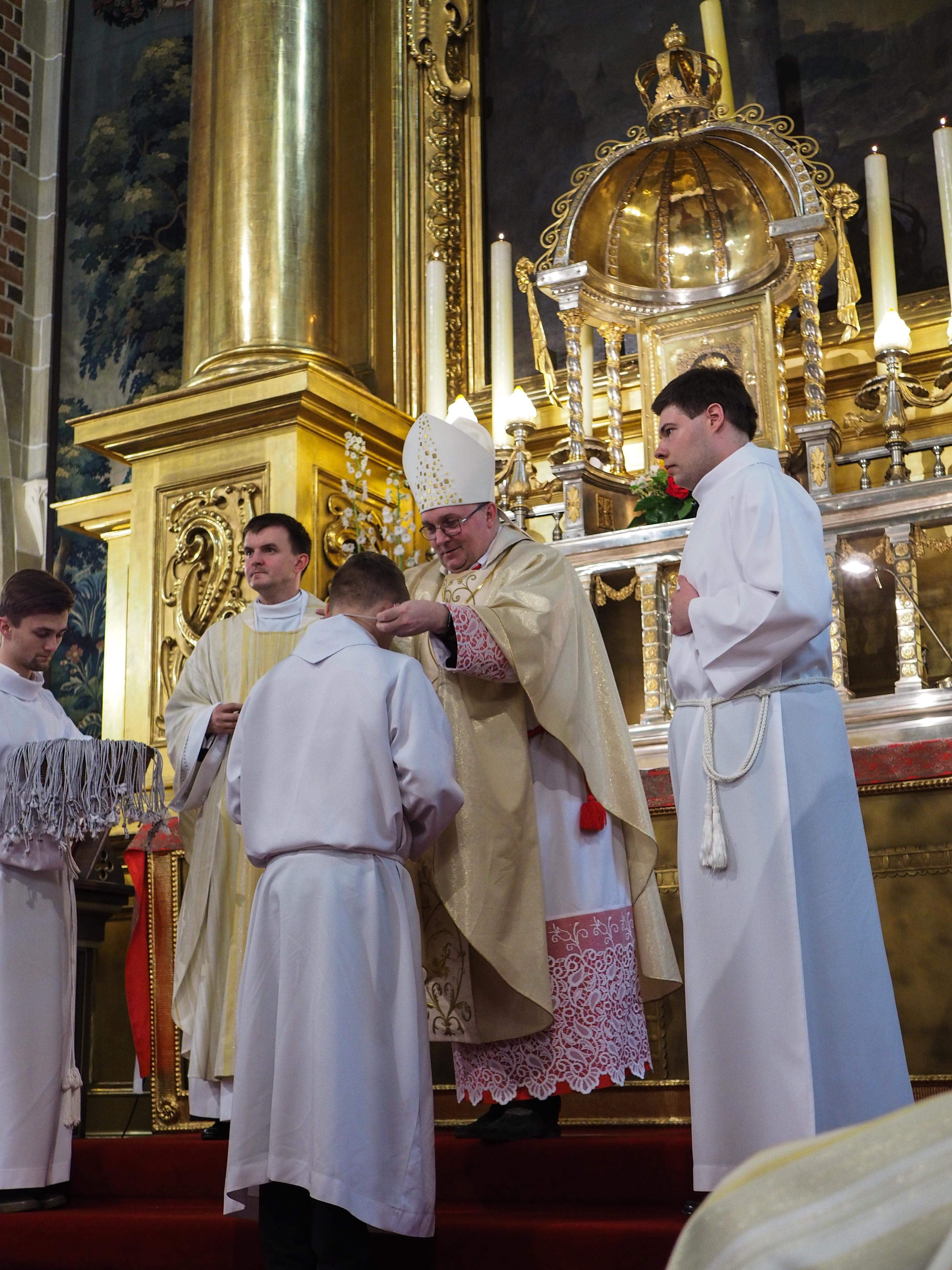 Rozpoczęcie Szkoły Ceremoniarza Parafialnego