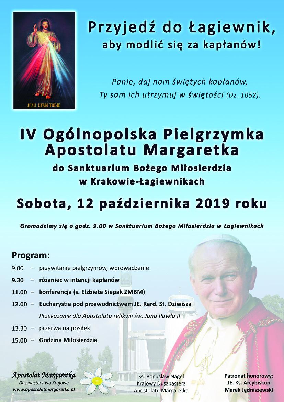 IV Ogólnopolska Pielgrzymka Apostolatu Margaretka do Sanktuarium Bożego MIłosierdzia