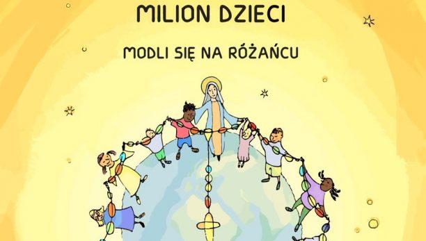 Milion dzieci modli się na różańcu