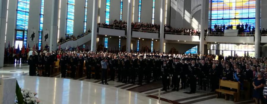 XVIII Pielgrzymka Strażaków z Małopolski do Sanktuarium Bożego Miłosierdzia w Łagiewnikach