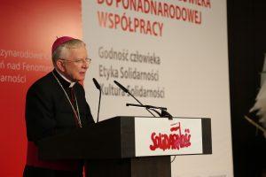 Abp Marek Jędraszewski w historycznej Sali BHP: Solidarność to upominanie się o drugiego człowieka