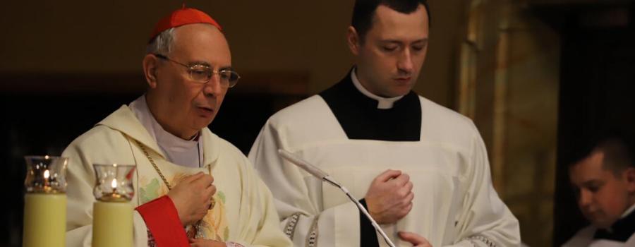 Kard. Dominique Mamberti w Łagiewnikach: Boże miłosierdzia ważnym przesłaniem do współczesnego świata