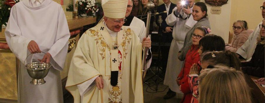 Abp Marek Jędraszewski podczas 25-lecia konsekracji kościoła w Bystrej Podhalańskiej: Nasze serca to świątynia Boga