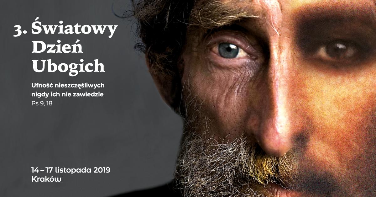 III Światowy Dzień Ubogich w Krakowie: Jesteśmy rękami Boga i musimy nieść pomoc bliźnim