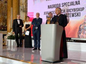 Abp Marek Jędraszewski pierwszym laureatem nagrody Strażnik Wartości – CUSTOS VIRTUTUM