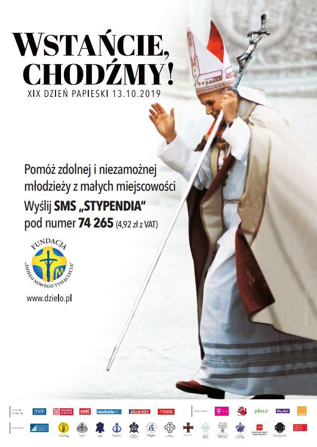 Msza Święta z okazji XIX Dnia Papieskiego – Dzieło Nowego Tysiąclecia