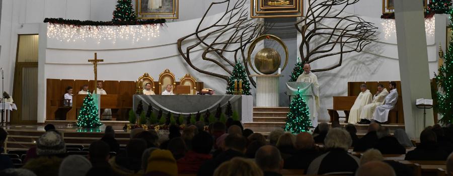 Dziękczynienie za 2019 rok w Sanktuarium Bożego Miłosierdzia