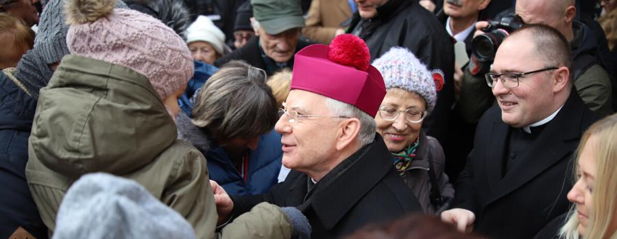 Abp Marek Jędraszewski: Boża Dziecino, błogosław Kraków!