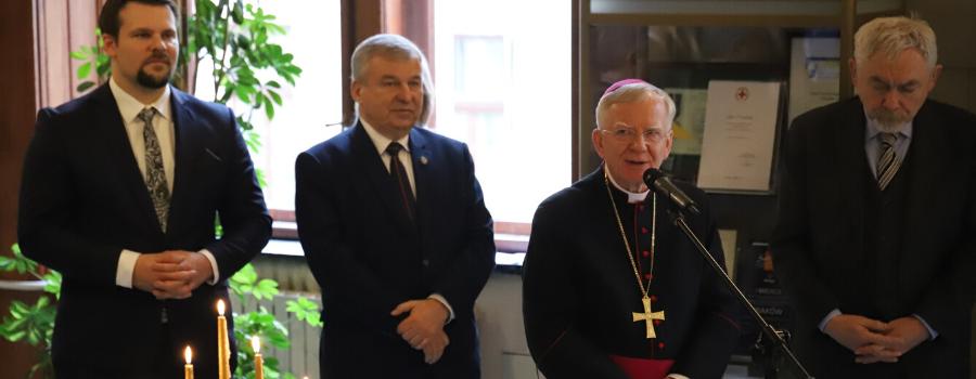 Spotkania opłatkowe w krakowskim Magistracie: Chrystus jest Światłością