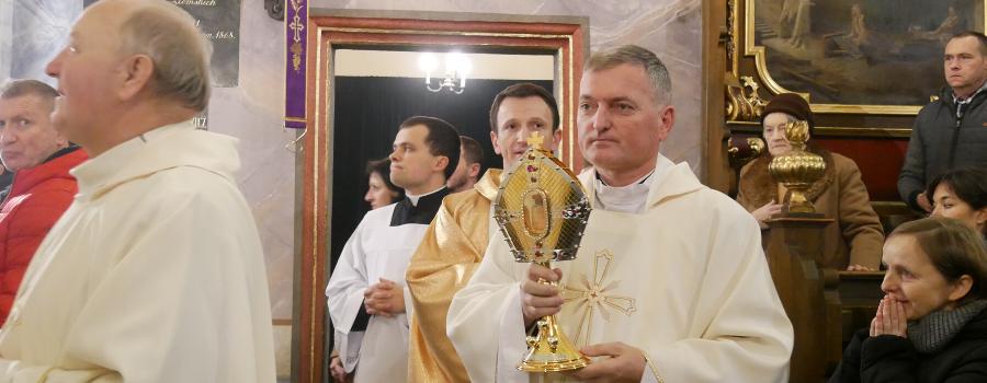 Relikwie św. Mikołaja w Krakowie