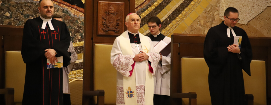 Bp Jan Szkodoń w czasie centralnego nabożeństwa ekumenicznego: Potrzebujemy pokory, która pomoże nam znajdować to, co nas łączy
