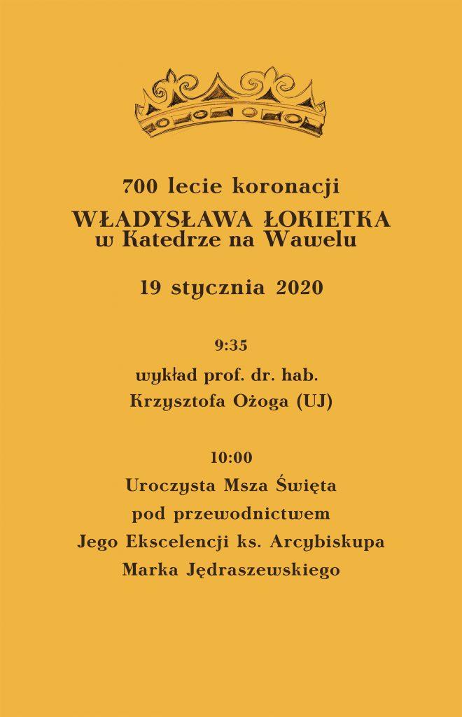 Msza św. z okazji 700-lecia koronacji Władysława Łokietka