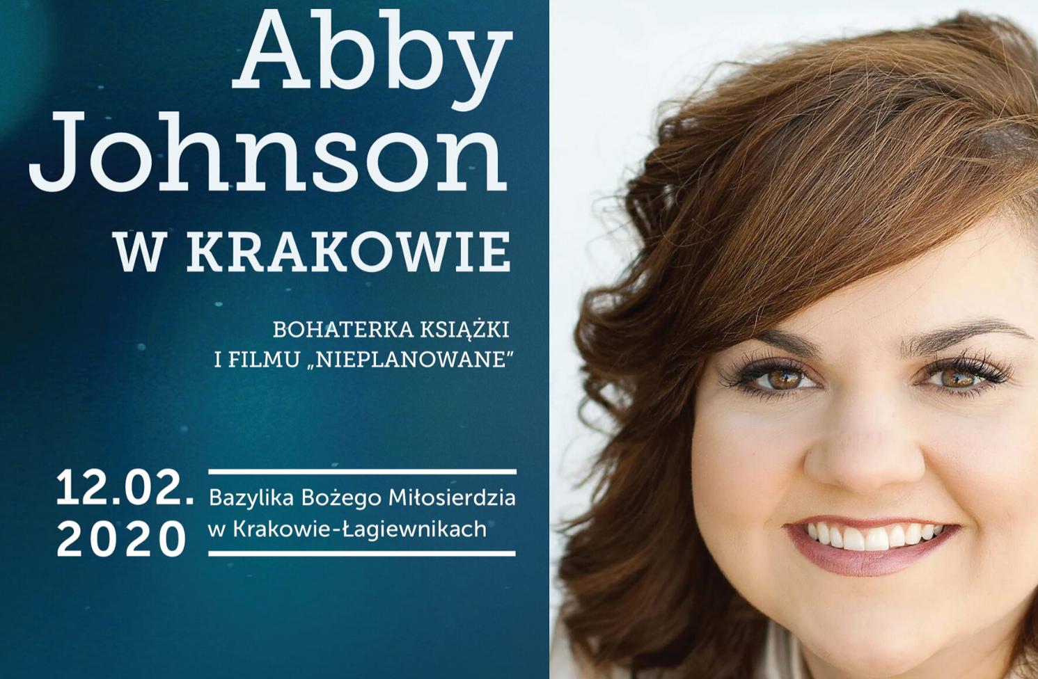 Świadectwo Abby Johnson w Krakowie