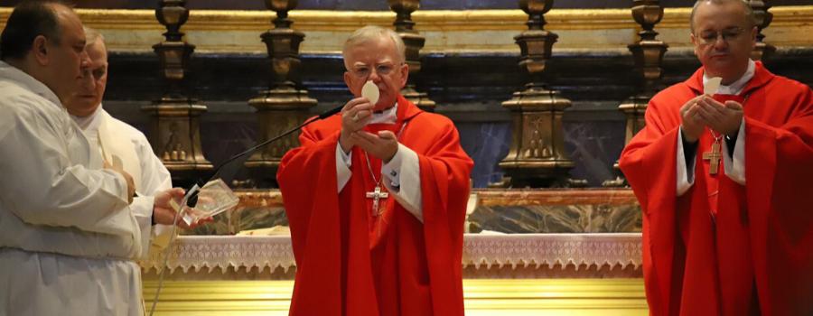 Rocznica święceń kapłańskich abp. Marka Jędraszewskiego