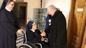 Abp Marek Jędraszewski z wizytą w domu Sióstr Duszy Chrystusowej