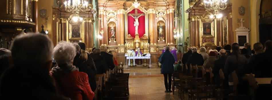 Kościół stacyjny św. Kazimierza: Jezus przygarnia nas takimi jakimi jesteśmy