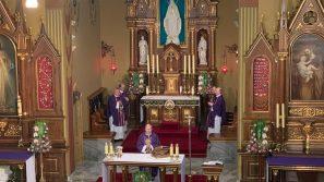 Modlitwa zawierzenia w Sanktuarium Bożego Miłosierdzia w Krakowie-Łagiewnikach