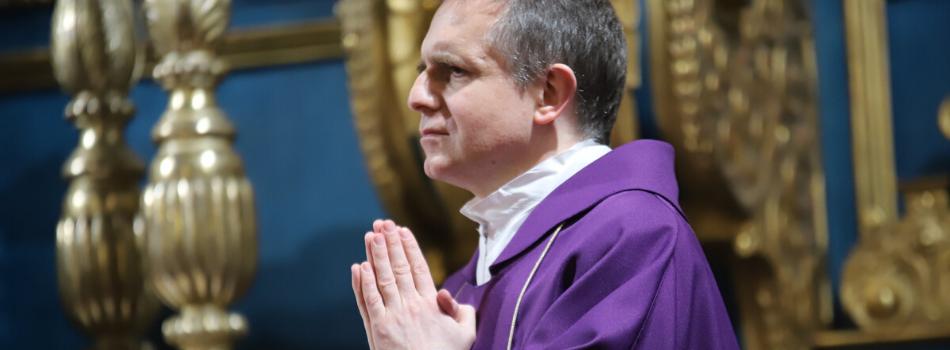 Liturgia stacyjna w kościele św. Marka: Bądźmy chrześcijanami, którzy dają życie