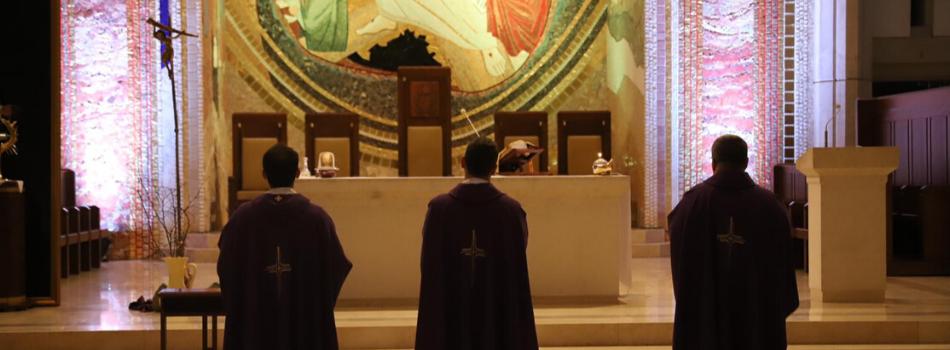 Kościół stacyjny sanktuarium św. Jana Pawła II: Módl się i ufaj!