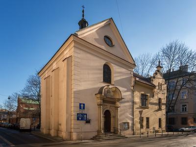 """Kościół Bożego Miłosierdzia """"na Smoleńsku"""" w Krakowie"""