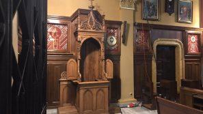 Konfesjonał – świadek spotkań Apostołki Bożego Miłosierdzia z Chrystusem powrócił do Łagiewnik