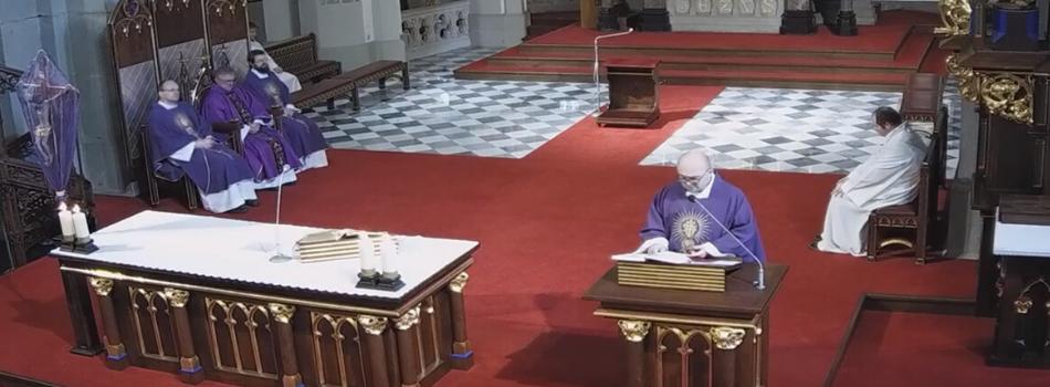 Liturgia stacyjna w kościele św. Józefa: Dążmy do świętości na wzór św. Jana Pawła II