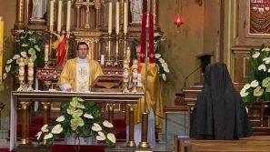 Ks. Andrzej Kielian modlił się w Łagiewnikach w intencji katechetów, nauczycieli, uczniów i rodziców
