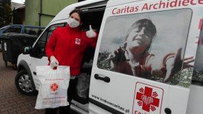 Na pomoc seniorom i medykom Caritas zebrała już 20 milionów złotych