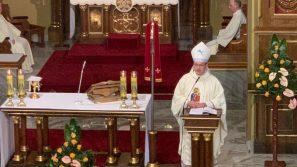 Bp Damian Muskus OFM w Łagiewnikach: Maryja jest Matką nadziei