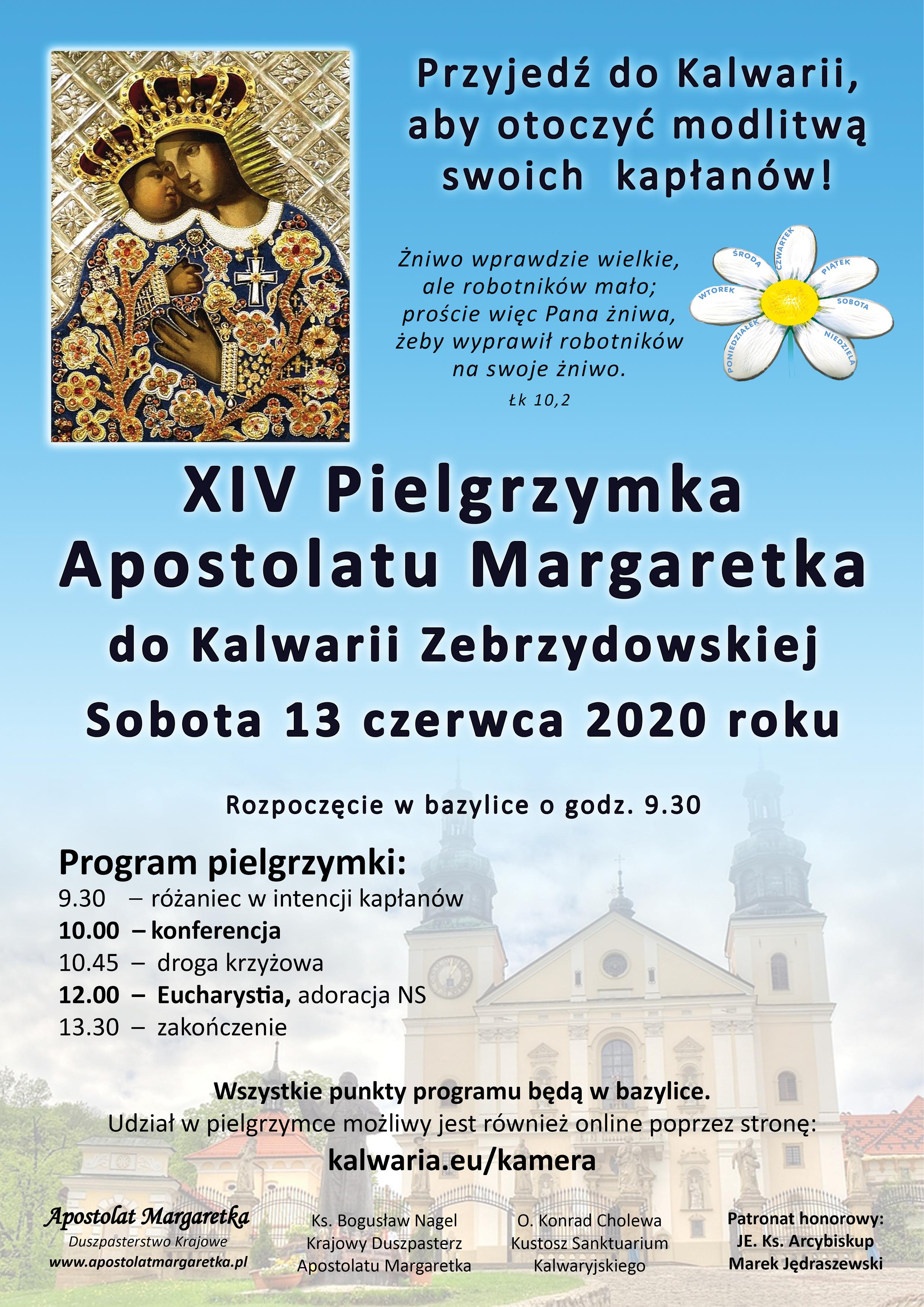 XIV Pielgrzymka Apostolatu Margaretka do Kalwarii Zebrzydowskiej