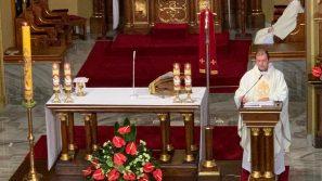 Ks. Mirosław Żak w Łagiewnikach: Źródłem ładu w życiu ludzkim jest wejście w synowską relację z Bogiem Ojcem na wzór Jezusa