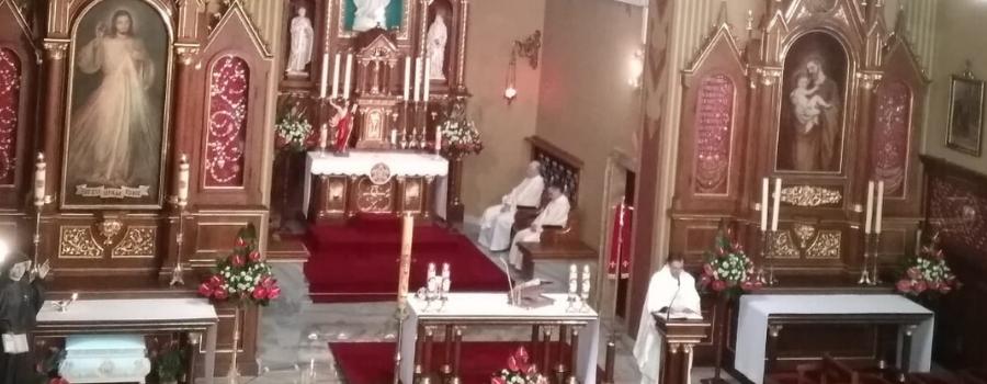 Ks. Dariusz Talik w Łagiewnikach: Bóg widzi nasze troski i pragnienia