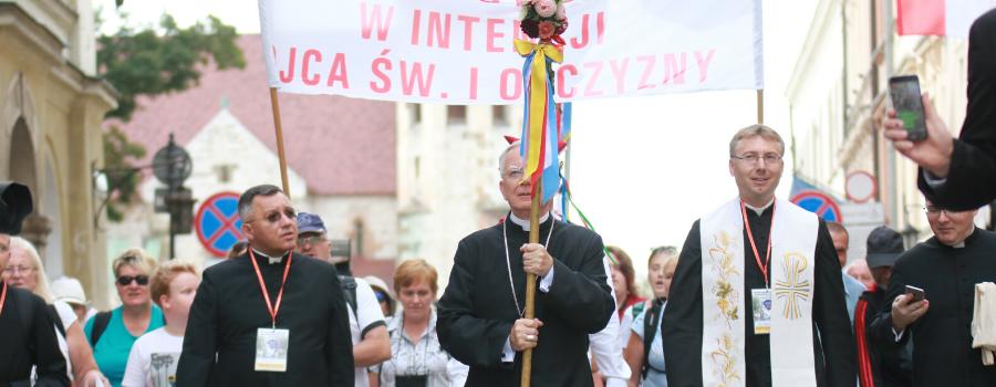 Komunikat w sprawie 40. Jubileuszowej Pieszej Pielgrzymki Krakowskiej
